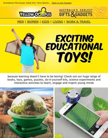 Fun Educational Toys for Curious Girls & Boys