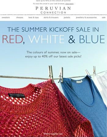 Celebrate Summer on Sale