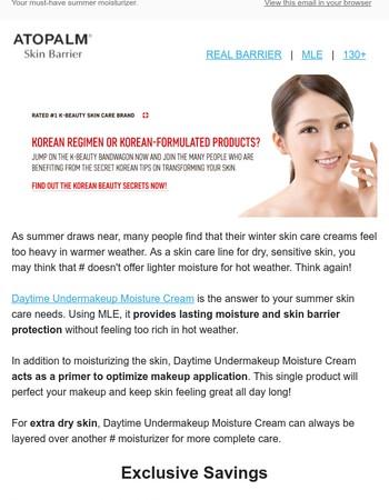 K-Beauty + Moisture + Makeup Primer = Yes, Please!