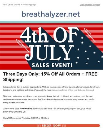 Breathalyzer.net Newsletter