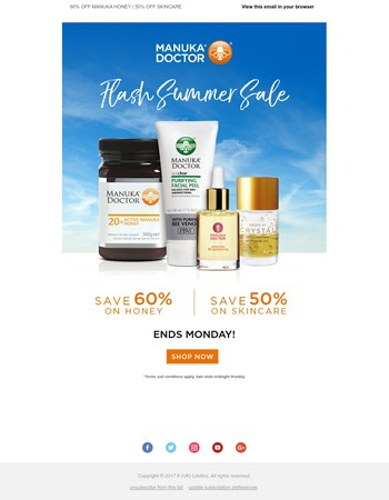 ⚡ Last Day | Up to 60% OFF Manuka Doctor ⚡