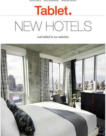 5 New Hotels