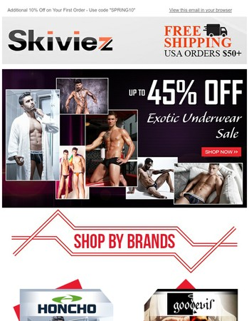 Exotic Underwear Sale | Up to 45% OFF
