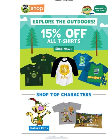 Explore the Outdoors - 15% Off!