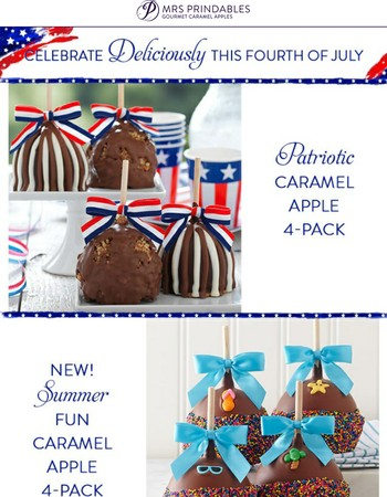 Celebrate Deliciously this 4th of July!