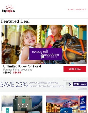 Unlimited Pass: Woodbine Fantasy Fair | Extra 25% Off