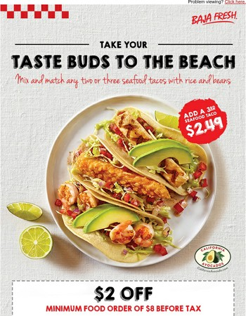 Take Your Taste Buds to the Beach!