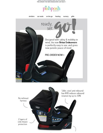 The Safest Car Seat is coming from Britax!
