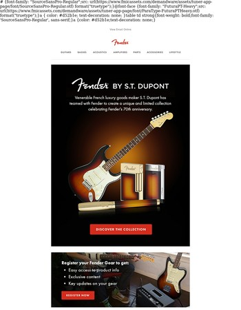 Fender by S.T. Dupont