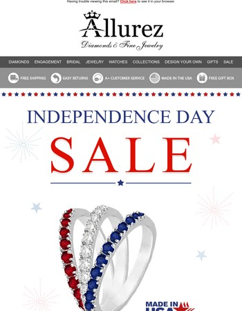 Independence Day Sale Starts Now!