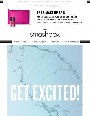 ⚡ NEWSFLASH ⚡ Smashbox invents...