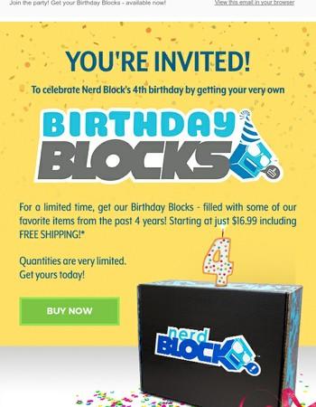Nerd Block Newsletter