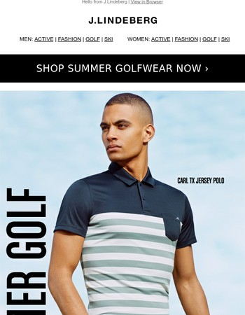 Summer Golfing In Style the JL Way