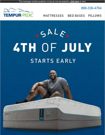 Cue the fireworks, sales start early!