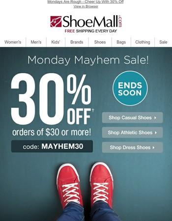 Monday Just Got 30% Better