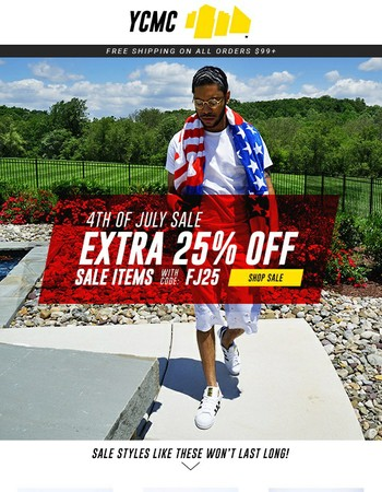 Take an Extra 25% Off All Sale Items