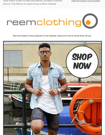 Reem Clothing Newsletter