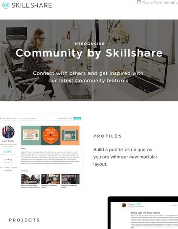 Introducing Community by Skillshare