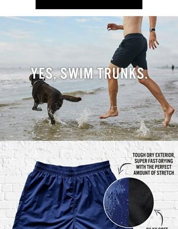 GEAR: Tough & Super Fast Drying Swim Trunks