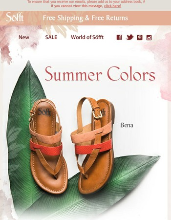 Your summer colors are here!