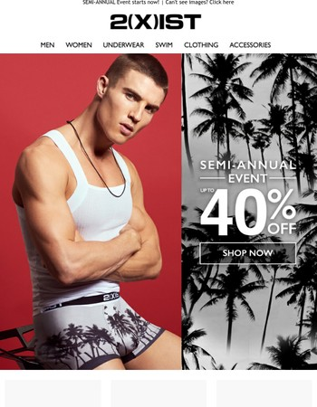 Beat the heat with up to 40% OFF...