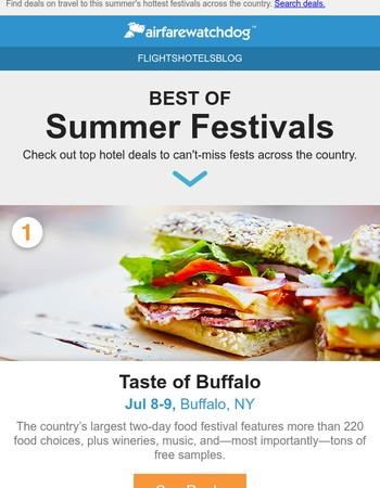 6 Summer Festivals Worth the Trip
