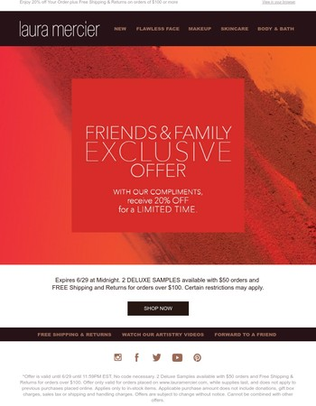 You're Invited to our Exclusive Friends & Family Event