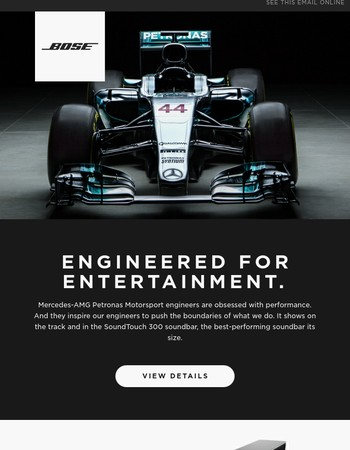 Bose + Mercedes-AMG Petronas   Pioneers of Innovation