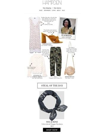 Shop Hamida's Favorites for Summer