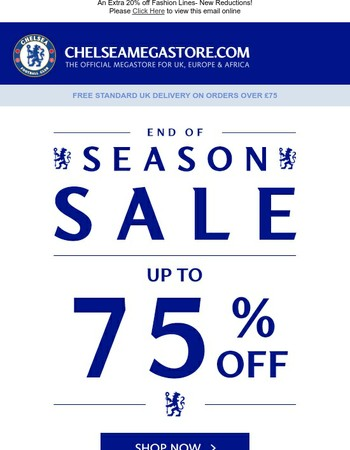 Up To 75% Off Sale! Plus Three 4 Two On Selected Souvenirs