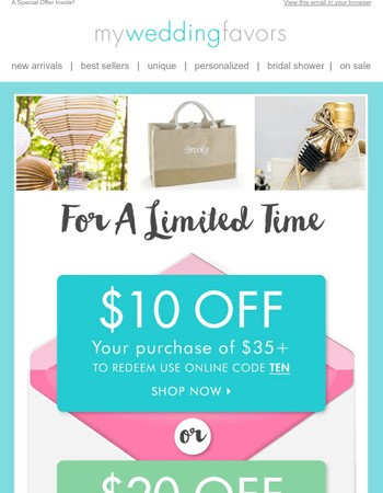 Save as You Shop!