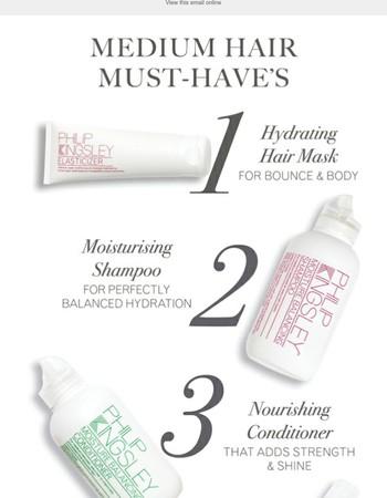 5 Essentials for Medium Hair