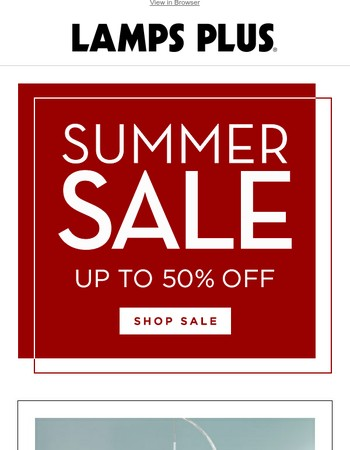 Summer's Here and so are the Hot Savings