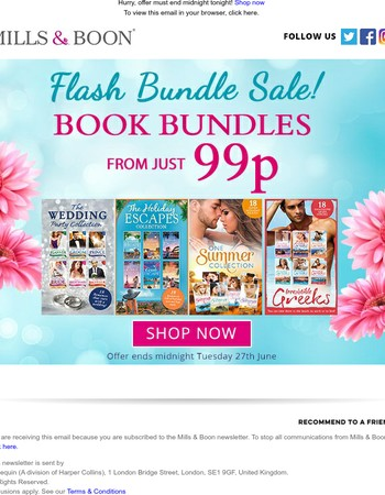 Reader, last chance to grab a bestselling bundle bargain from just 99p