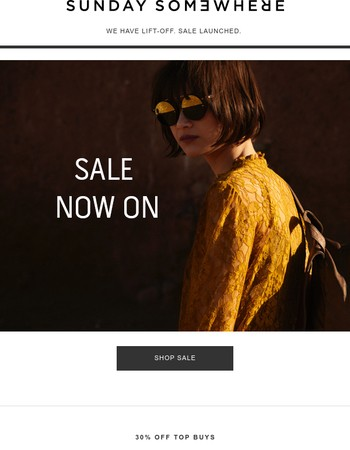LIFT-OFF. Sale Now On. Up to 50% OFF.