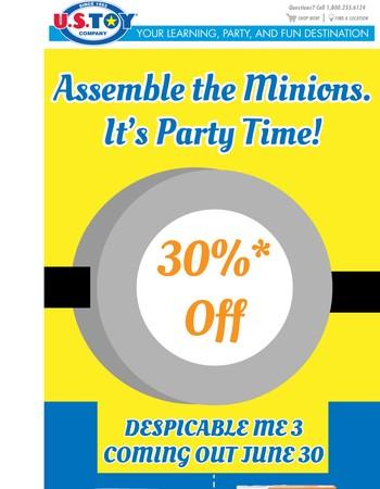 Assemble the Minions
