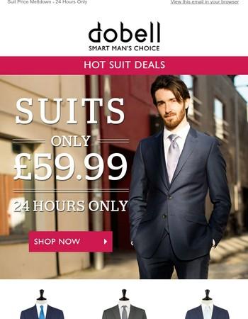 Scorchingly Hot Suit Deals - Save £££