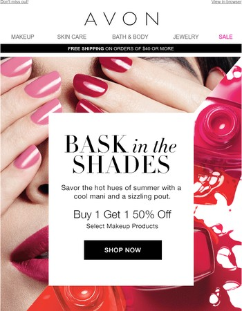 Savor this sizzling makeup deal before it's gone!