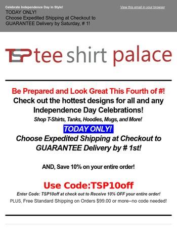 Tee Shirt Palace Newsletter
