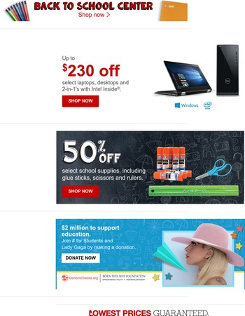 YOUR MOVE: UP TO $230 OFF laptops. It's official!