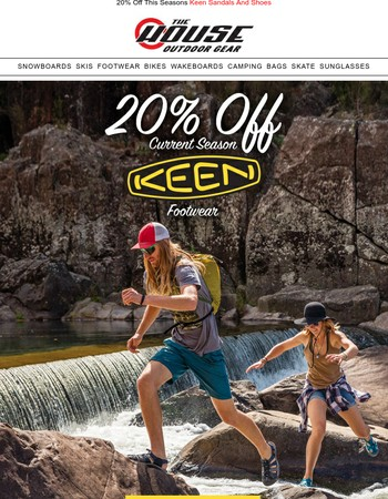 Limited Time Savings On This Seasons Keen Sandals and Shoes