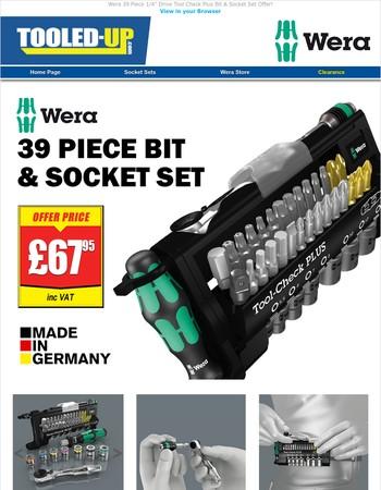 Wera Quality Bit & Socket Set Offer!