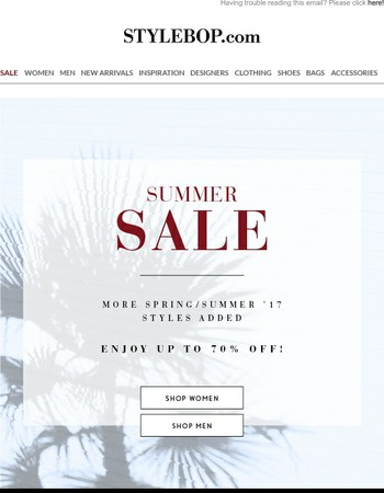 Summer SALE: Now Up To 70% Off
