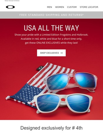 4th of July Exclusives → Get them while they last