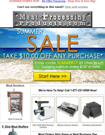 3 Days Left To Use Coupon - Summer Sale Starts NOW!