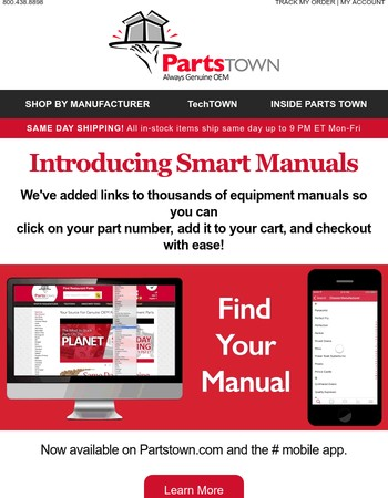 The Latest Smart Idea From Parts Town