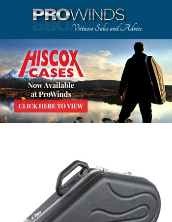 Hiscox Cases Now Available at ProWinds