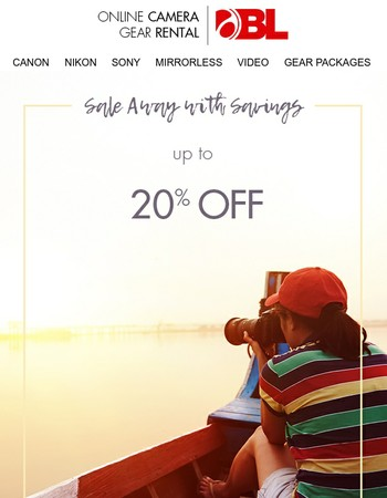 Ending: up to 20% Off Summer Savings & Free Day