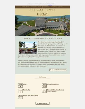 The Lake Report - Summer Fun in GOTL