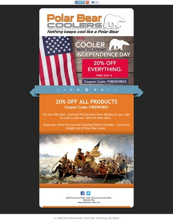 4th of July Sale - 20% OFF!